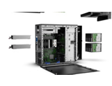 HPE ProLiant ML110 Gen10 Server animated exploded view video
