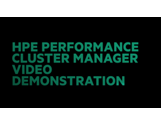 HPE Performance Cluster Manager: Video Demonstration