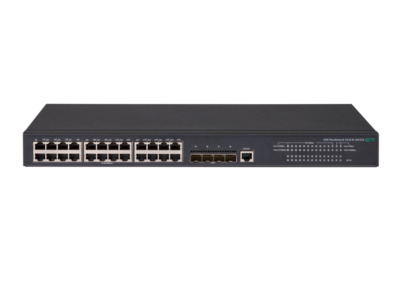 HPE FlexNetwork 5130 24G 4SFP+ EI Switch
