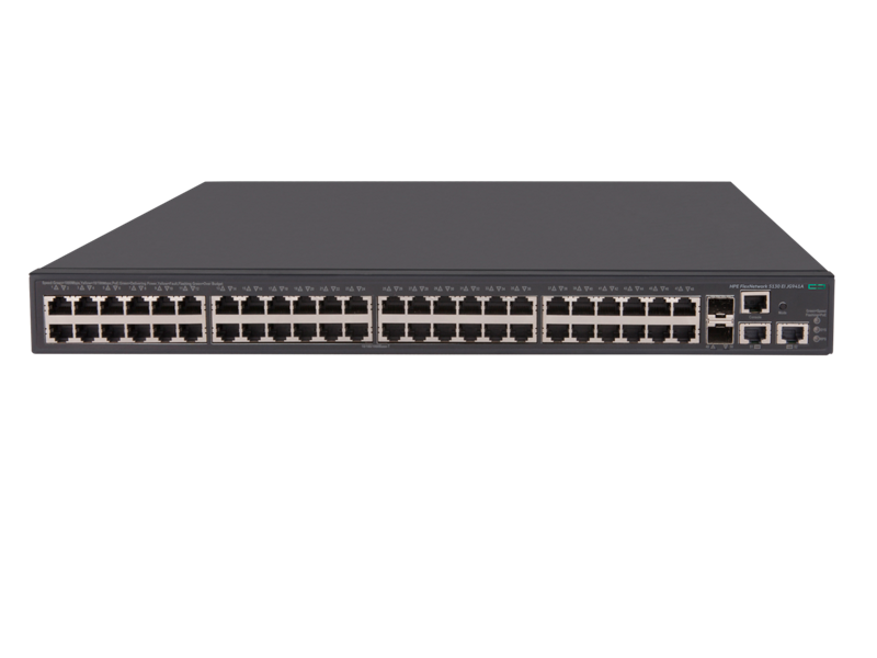 HPE FlexNetwork 5130 48G POE+ 2SFP+ 2XGT (370W) EI Switch