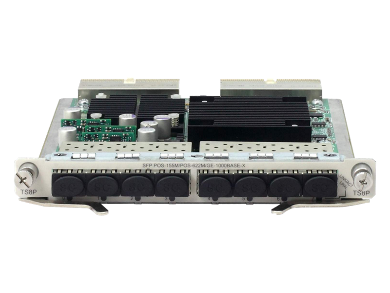 HPE 6600 8-port OC-3c/OC-12c POS / GbE SFP HIM Module
