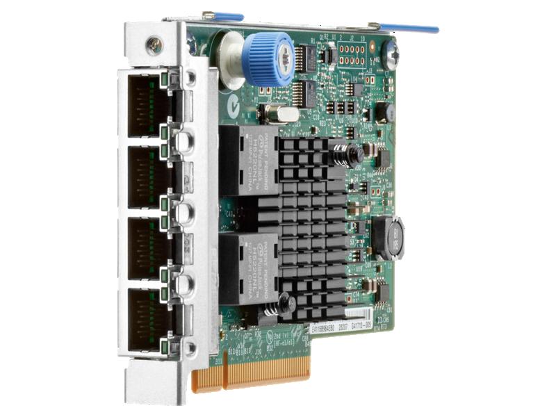 HPE Ethernet 1Gb 4-port 366FLR Adapter