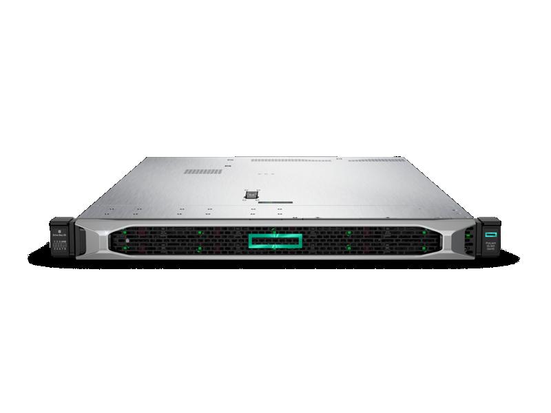 HPE ProLiant DL360 Gen10 Rack Server-  Front with Bezel