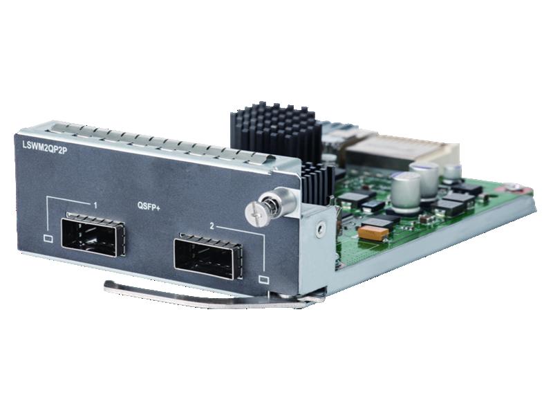 HPE 5510 2 port QSFP+ Module, JH155A