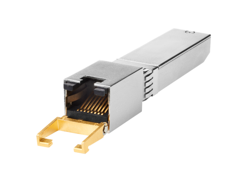 HPE 10GbaseT SFP+ transceiver
