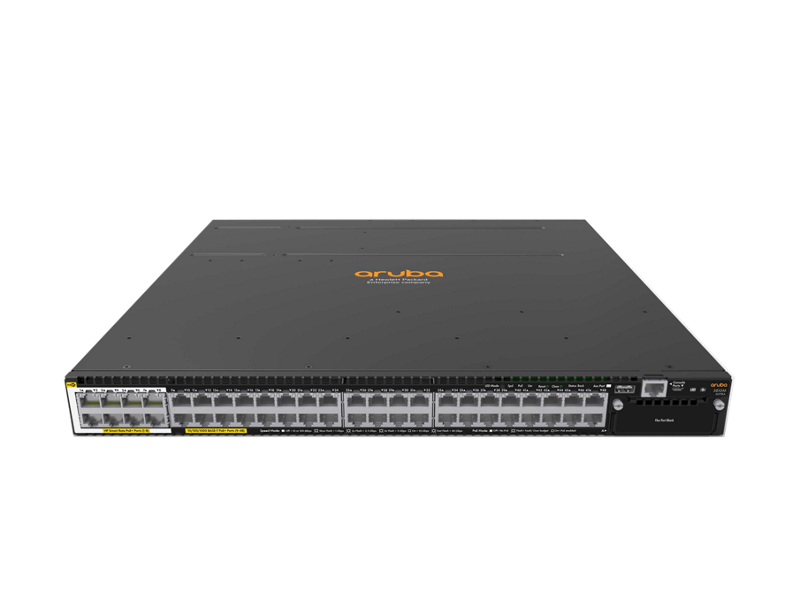 Aruba 3810M 40G 8 HPE Smart Rate PoE+ 1-slot Switch