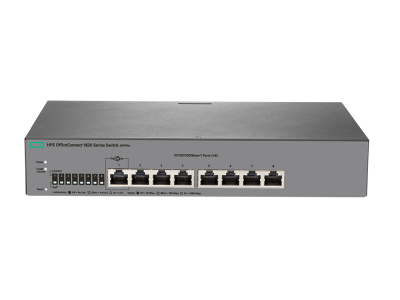 HPE OfficeConnect 1820 8G Switch, J9979A