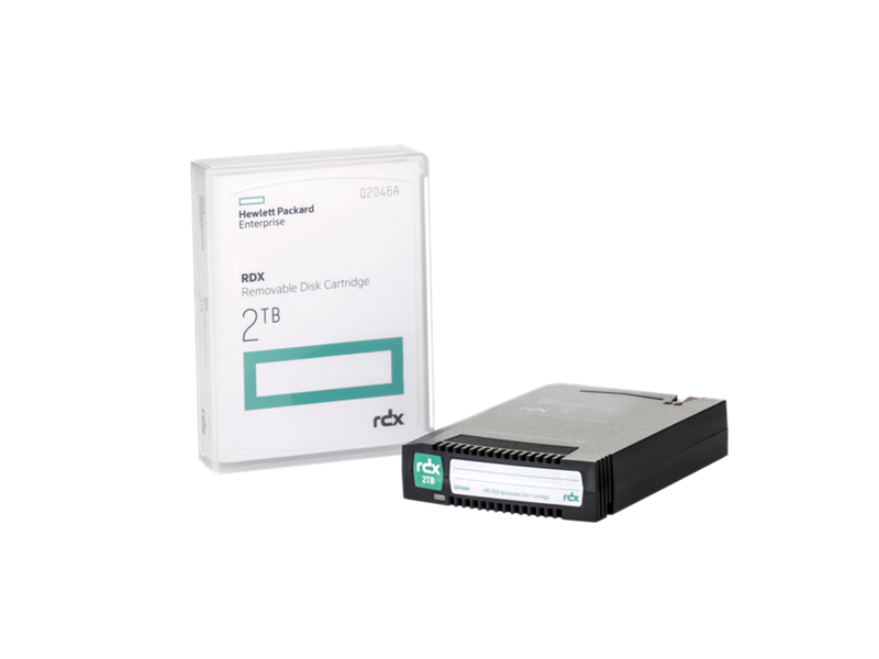 HPE RDX 2TB Removable Disk Cartridge