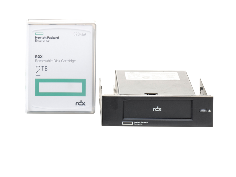 HPE RDX Internal Docking System with RDX 2TB Removable Disk