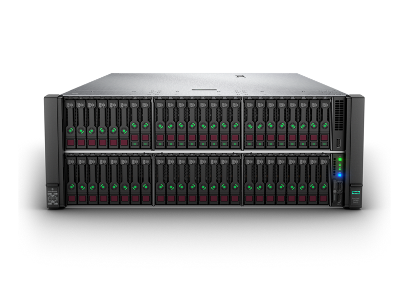 HPE ProLiant DL580 Gen10 - Front with 30SFF, 18 NVMe
