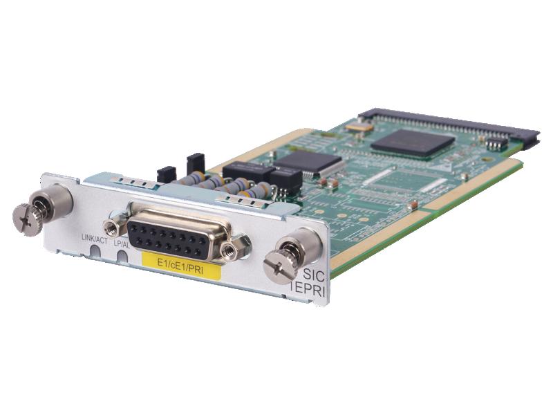HPE MSR 1-port E1/CE1/PRI SIC Module