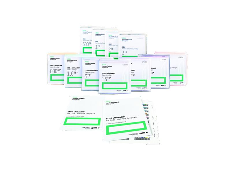 HPE LTO-4 Ultrium WORM Bar Code Label Pack