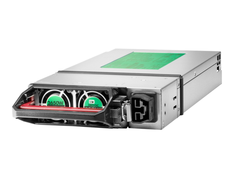 HPE 2650W -48VDC Hot Plug Power Supply Kit, HPE 6x 2650W -48VDC Hot Plug Power Factory Integrated Supply Kit