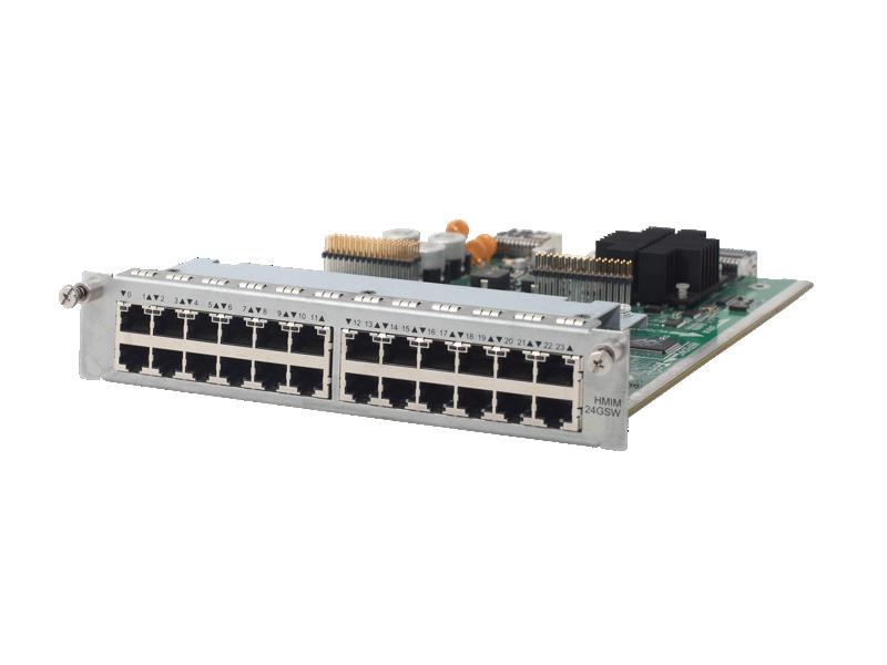 HPE MSR 24-port Gig-T Switch HMIM Module, JG426A