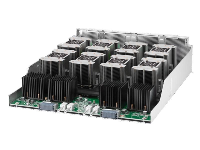 HPE Apollo 6500 Gen10, HPE ProLiant XL270d Gen10 Server, HPEProLiantXL270dGen10Configure-to-orderServer, HPEXL270dGen10CTOServer, server, ProLiant, XL, Gen 10, Gen10, XL270d, jonagold, screaming eagle, P00392, SXM-2 module, HPE Apollo 6500 Gen10 System, XL270d, deep learning, artificial intelligence, high performance computing, GPU, high performance data analytics, AI, HPC, graphic processing unit, NVIDIA, HPE, Hewlett Packard Enterprise, NVLink