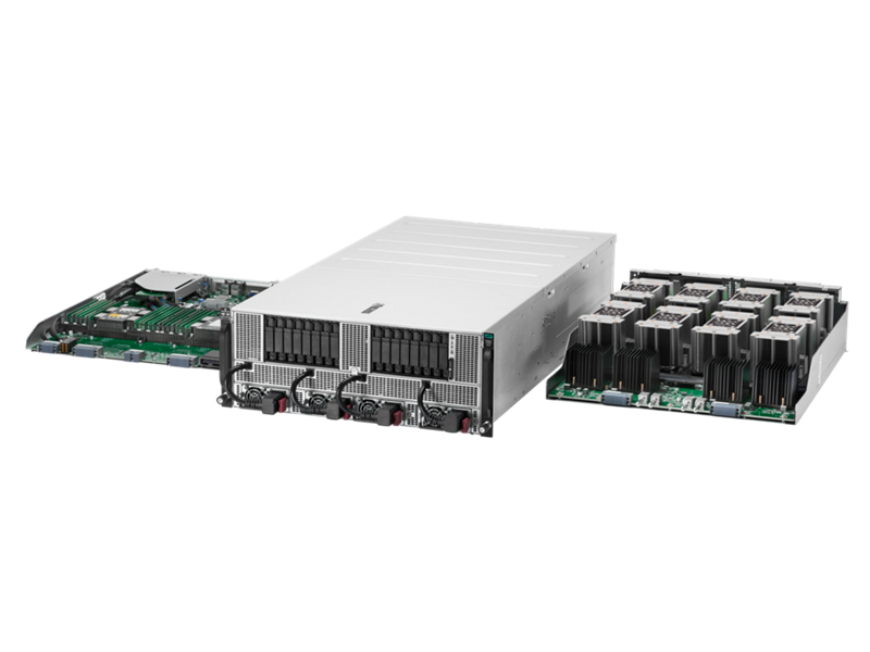 HPE Apollo 6500 Gen10, HPE ProLiant XL270d Gen10 Server, HPEProLiantXL270dGen10Configure-to-orderServer, HPEXL270dGen10CTOServer, server, ProLiant, XL, Gen 10, Gen10, XL270d, jonagold, screaming eagle, P00392, motherboard, SXM-2 module, HPE Apollo 6500 Gen10 System, XL270d, deep learning, artificial intelligence, high performance computing, GPU, high performance data analytics, AI, HPC, graphic processing unit, NVIDIA, HPE, Hewlett Packard Enterprise, NVLink