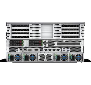 HPE Superdome Flex Server - Rear, 12 PCIe