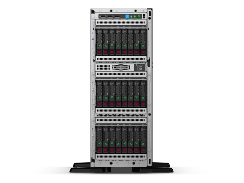 HPE ProLiant ML350 Gen10 Server - Front 24SFF