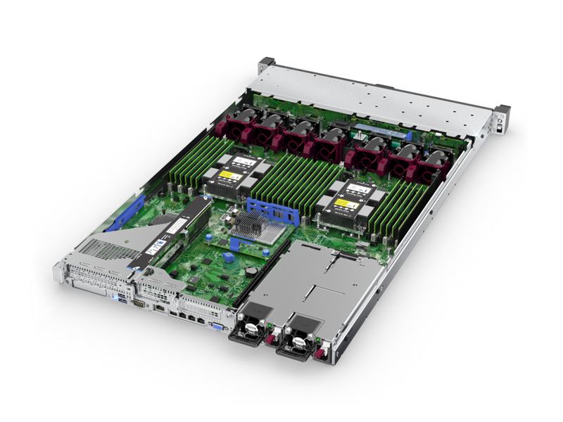 HPE ProLiant DL360 Gen10 - Interior