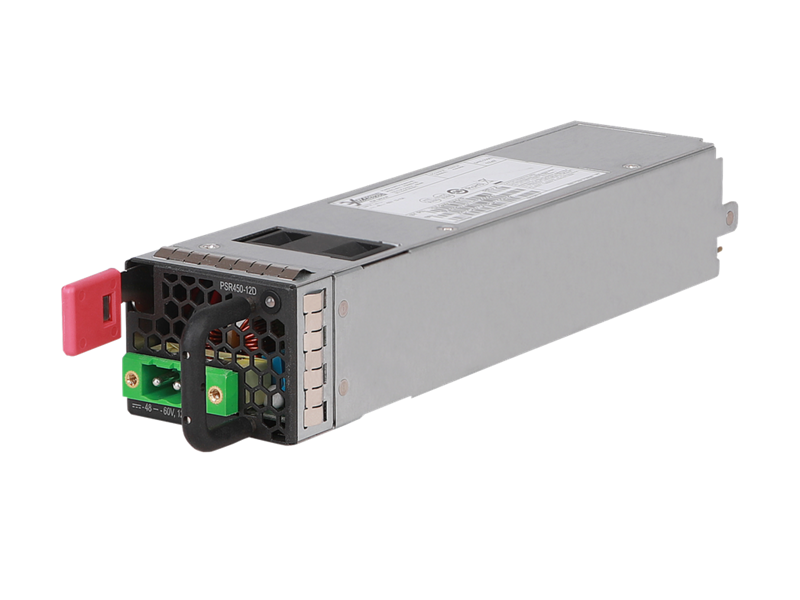 HPE FlexFabric 5710 450W 48V Front-to-Back DC Power Supply