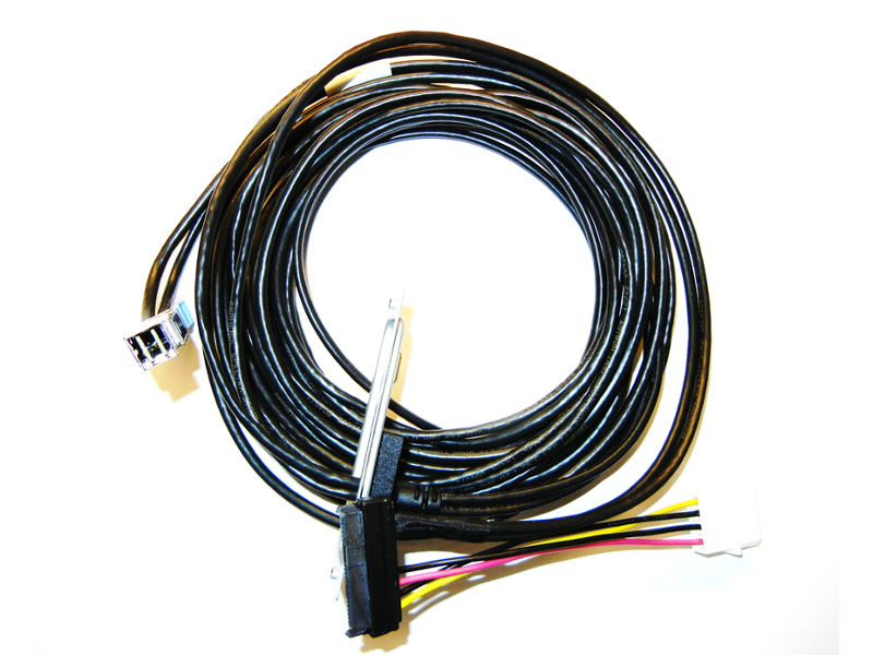 HPE StoreEver 4m Mini SAS HD (SFF-8644) LTO Drive Cable for 1U Rack Mount Kit