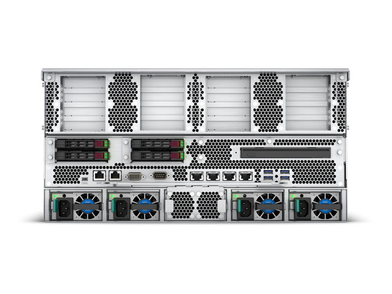 HPE Superdome Flex Server - Rear