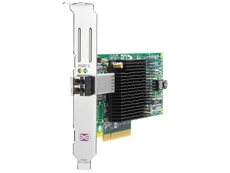 HPE StorageWorks 81E 8Gb Single Port PCIe Fibre Channel Host Bus Adapter