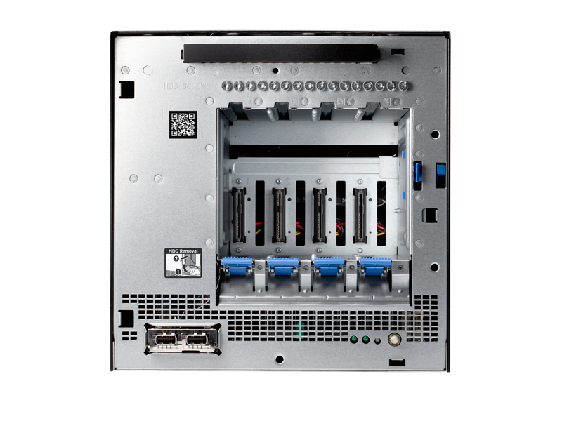HPE Microserver Gen10- Rear facing