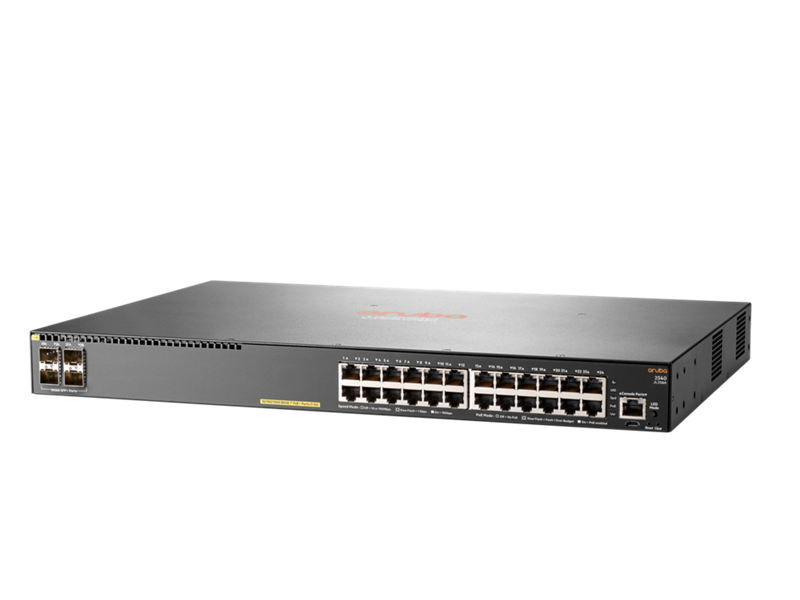 Aruba 2540 24G PoE+ 4SFP+ Switch