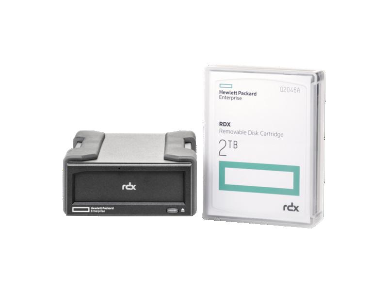 HPE RDX 2TB External Disk Backup System