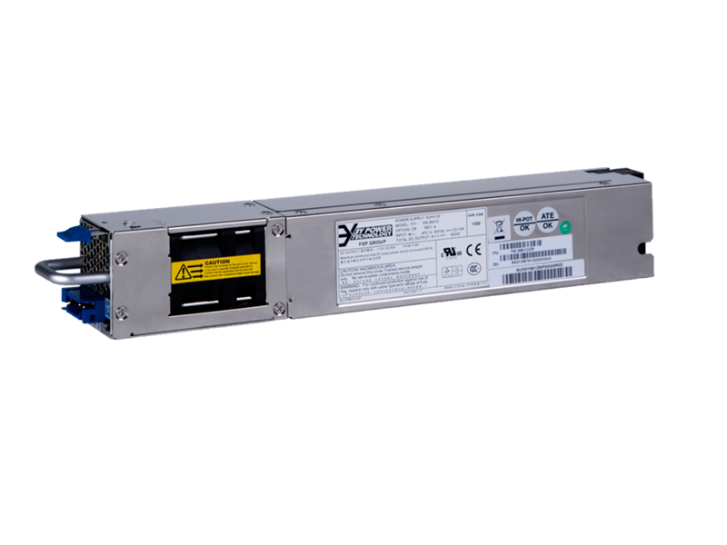 HPE A58x0AF Back (Power Side) to Front (Port Side) Airflow 300W DC Power Supply, JG901A