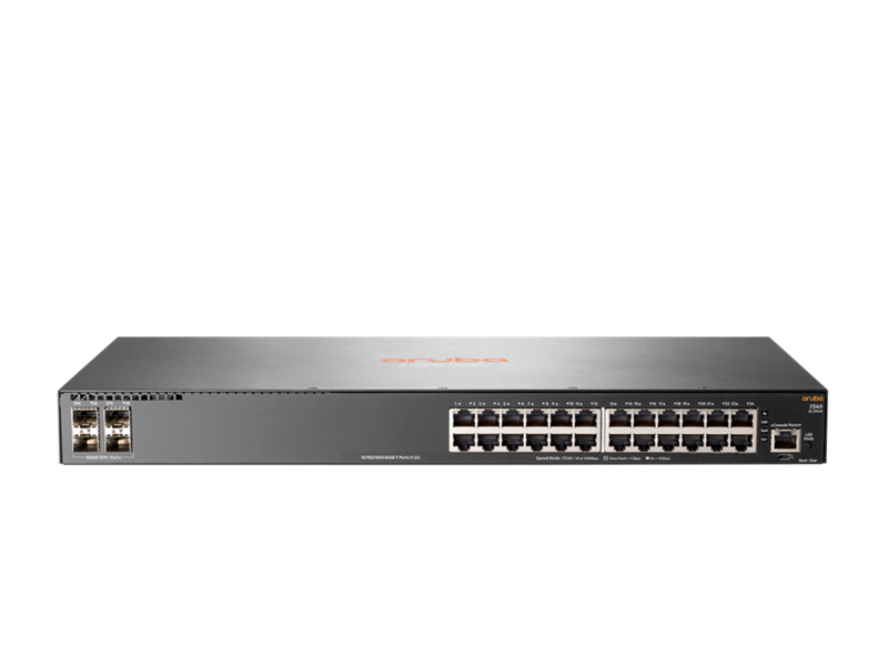 Aruba 2540 24G 4SFP+ Switch