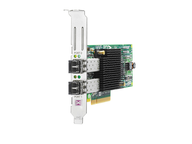 HPE StorageWorks 82E 8Gb Dual Port PCIe Fibre Channel Host Bus Adapter