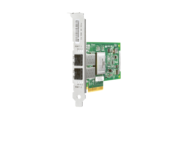 HPE StorageWorks 82Q 8Gb Dual Port PCIe Fibre Channel Host Bus Adapter