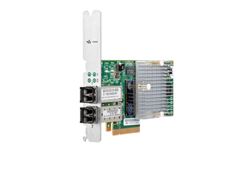 HP 3PAR StoreServ 7000 2-port 10Gb/sec iSCSI/FCoE Adapter