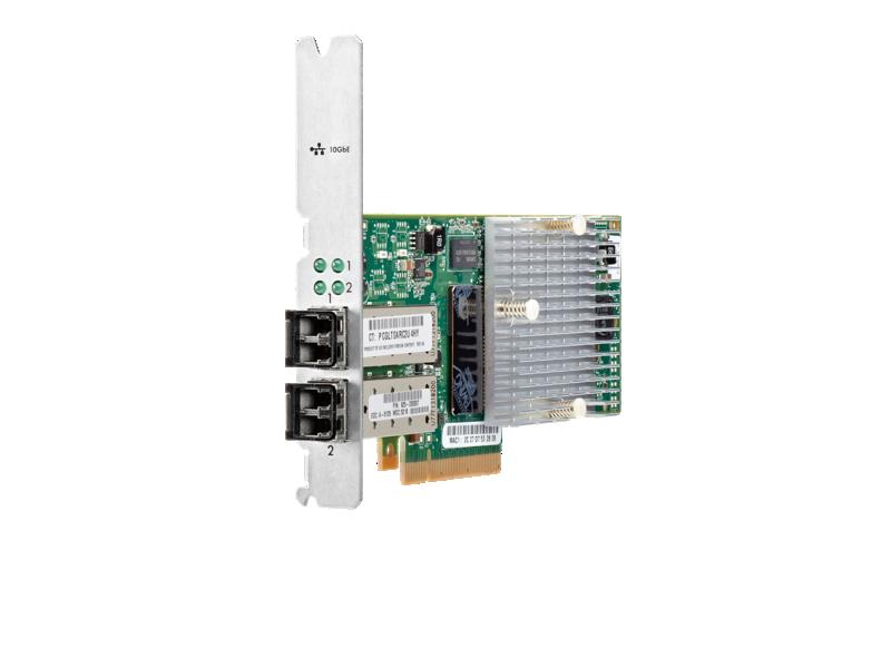 HP 3PAR StoreServ 7000 2-port 10Gb/sec iSCSI/FCoE Adapter