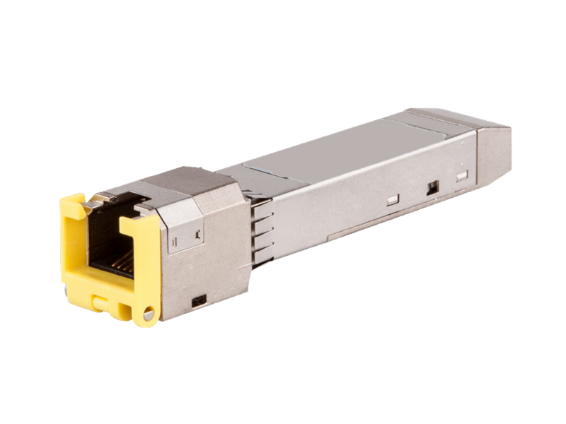 Aruba SFP/SFP+ RJ45 Transceivers