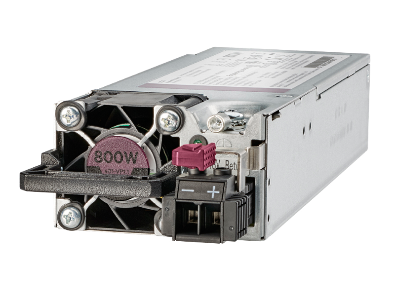 HPE 800W Flex Slot -48VDC Hot Plug Low Halogen Power Supply Kit