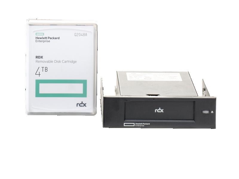 HPE RDX 4TB USB Internal Disk Backup System