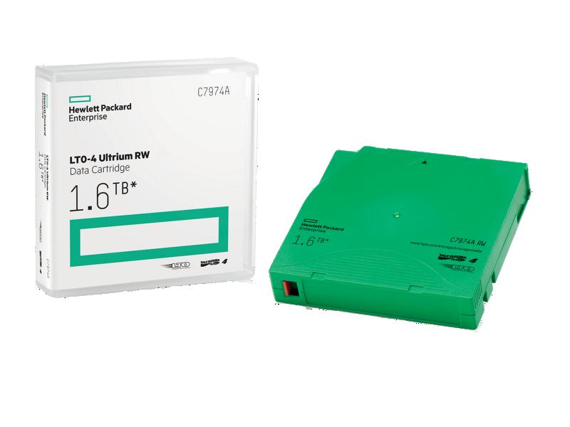 HPE LTO4 Ultrium 1.6TB Read/Write Data Cartridge