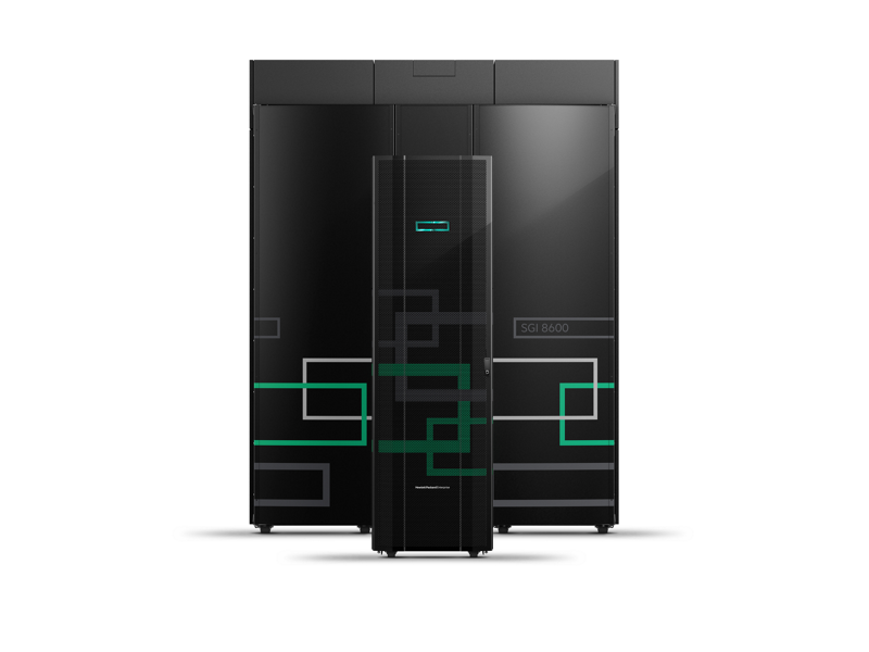 HPE SGI 8600 System - Front