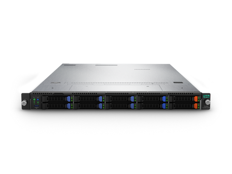 HPE Cloudline CL2100 Gen10 Server - Front