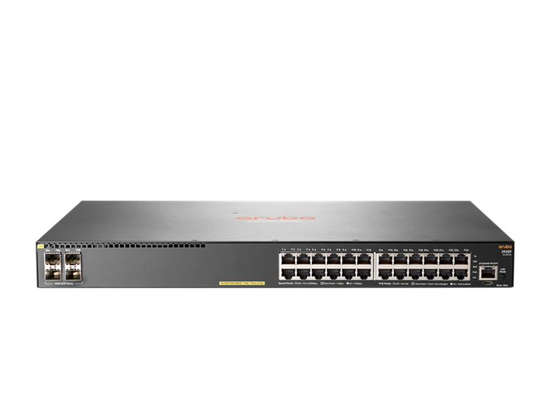 Aruba 2930F 24G PoE+ 4SFP Switch