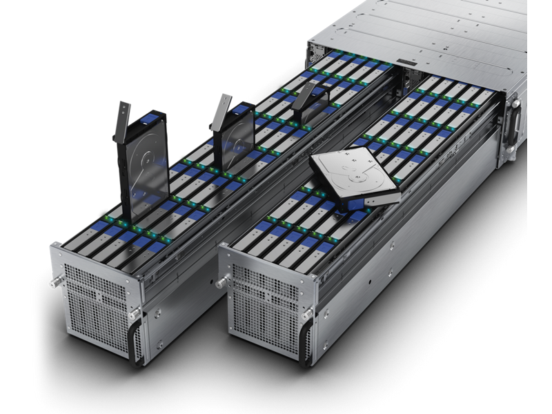HPE Cloudline CL5200 Gen9 Server - Interior