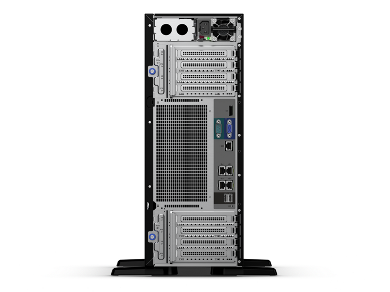 HPE ProLiant ML350 Gen10 Server - Rear no perspective