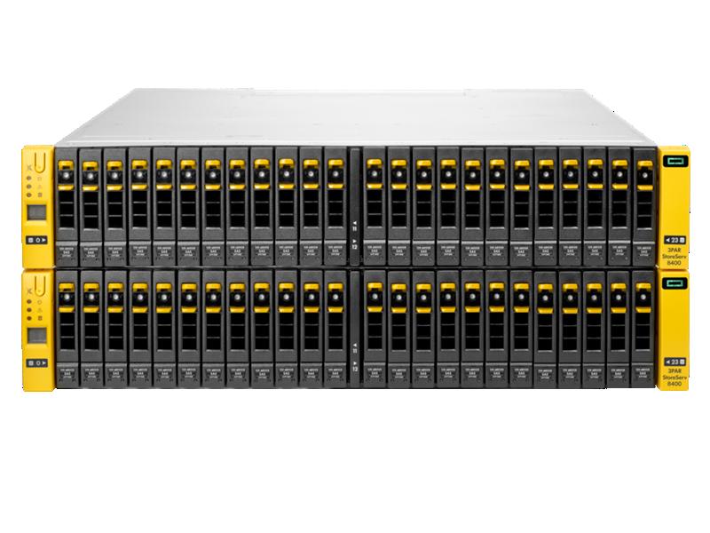 HP 3PAR StoreServ 8400 Storage (4 nodes)