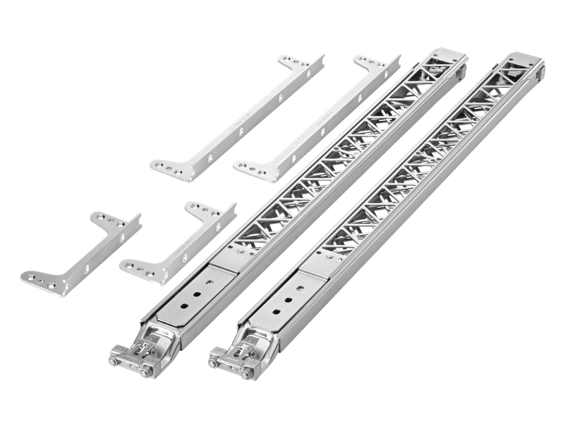 HPE X450 4U/7U Universal 4-Post Rack Mounting Kit, 5400R switch series