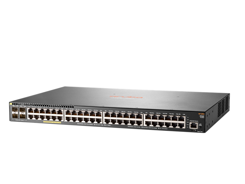 Aruba 2930F 48G PoE+ 4SFP+ Switch