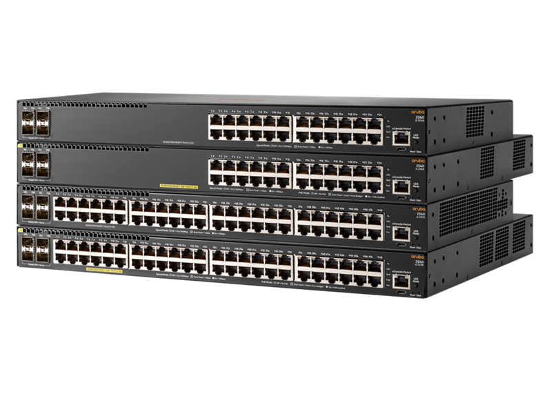 Aruba 2540 switch family