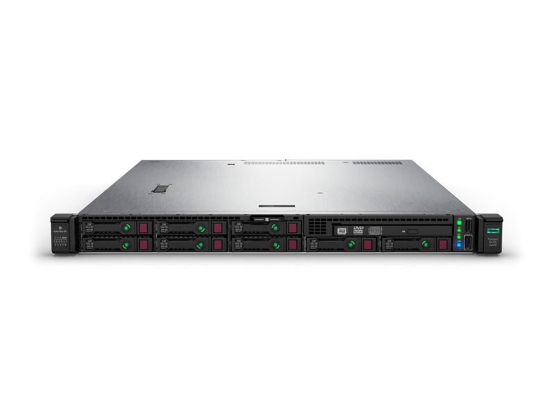 HPE ProLiant DL325 Gen10 Server - Front, 8SFF + ODD